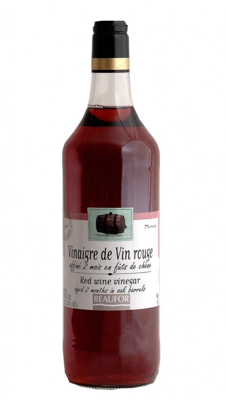 vinaire de vin rouge affine en futs de chene bouteille 1 litre beaufor vvv epicerie. Black Bedroom Furniture Sets. Home Design Ideas