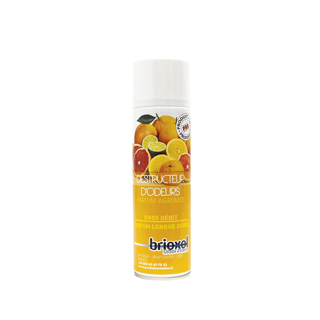 aerosol destructeur d odeur 500 ml brioxol epicerie picerie en ligne au meilleur. Black Bedroom Furniture Sets. Home Design Ideas
