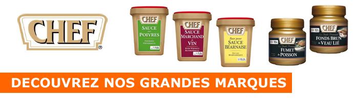 D�couvrez les produits de la marque Chef !