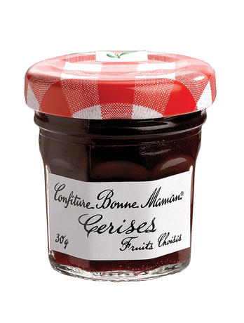 confiture portions bonne maman pot verre cerises x 60 bonne maman epicerie picerie. Black Bedroom Furniture Sets. Home Design Ideas