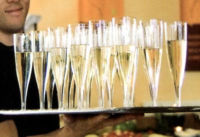 flutes a champagne elegance plastique rigide transparent lot de 10 epicerie picerie. Black Bedroom Furniture Sets. Home Design Ideas