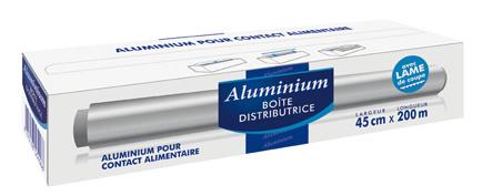papier aluminium 200m x 45cm picerie pro picerie en ligne au meilleur prix pour les. Black Bedroom Furniture Sets. Home Design Ideas